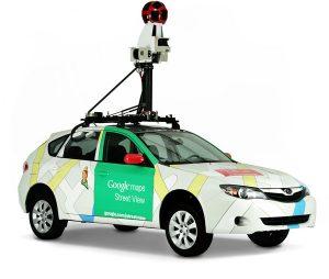 Google Streetview Auto