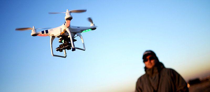 Drone bedrijfspromotie Almere